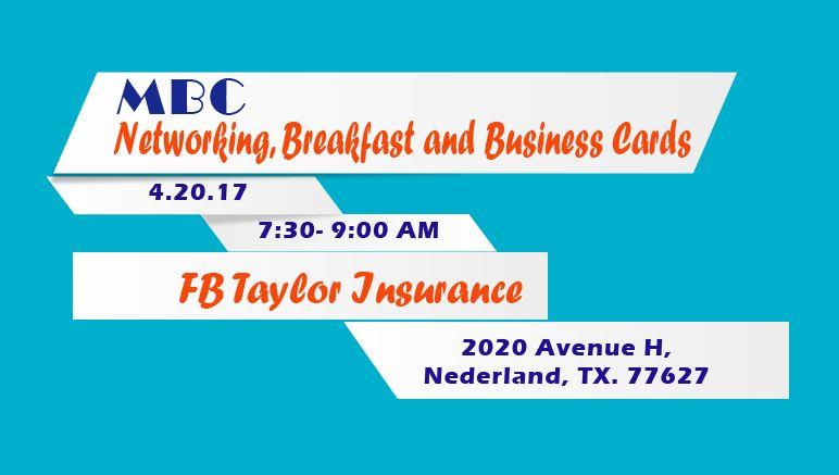 Event mbc networking breakfast and business cards reheart Gallery